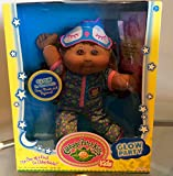 CABBAGE PATCH KIDS AFRICAN AMERICAN GLOW PARTY DOLL with GLOW IN THE DARK PAJAMAS and SLEEP MASK