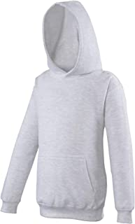 Awdis Kinder Unisex Kapuzen Pullover (3-4 Jahre) (Aschegrau) UTRW169_95