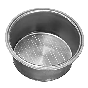 MonkeyJack Stainless Steel Non Pressurized Filter Basket 2 CUP 51mm for Coffee Machine Fitting