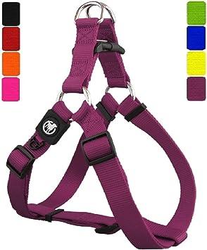 DDOXX Arnés Perro Step-In Nylon, Ajustable | Diferentes Colores ...