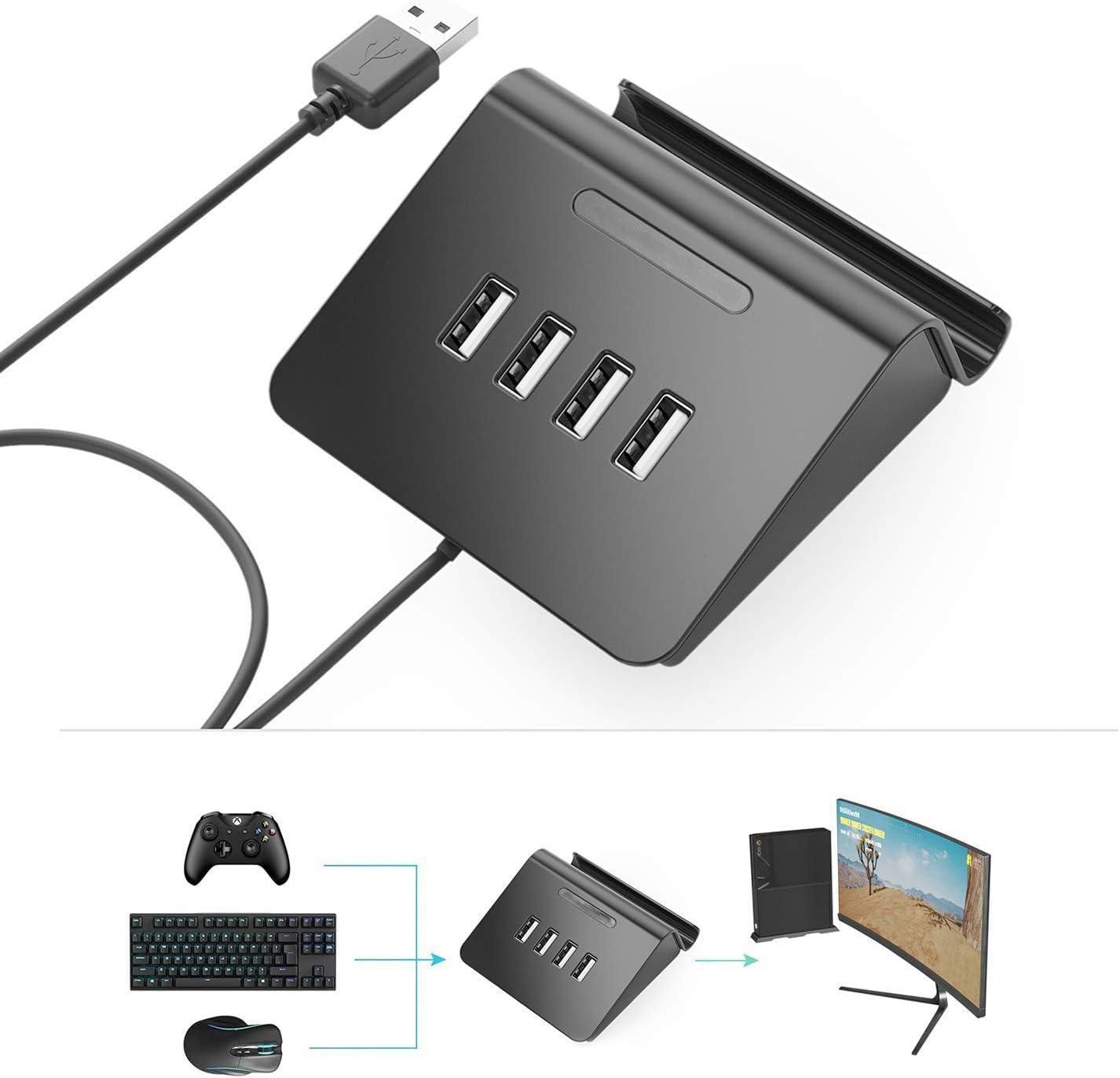 TOOGOO® - Teclado y ratón para Pubg FPS 4 en 1 HUB Adaptador para ...