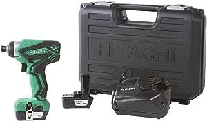 Hitachi WH10DFL2 12-Volt Peak Cordless Lithium Ion Impact Driver Kit (Lifetime Tool Warranty)