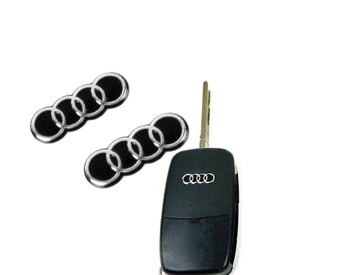 Sconosciuto X2Logo 15x 5mm pour télécommande clé porte-clés emblème voiture moto sticker Generic
