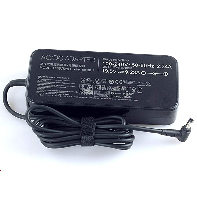 Amazon.com: 19.5V 9.23A 180W For ASUS ROG ADP-180MB F G750JW Original AC Adapter Charger: Computers & Accessories