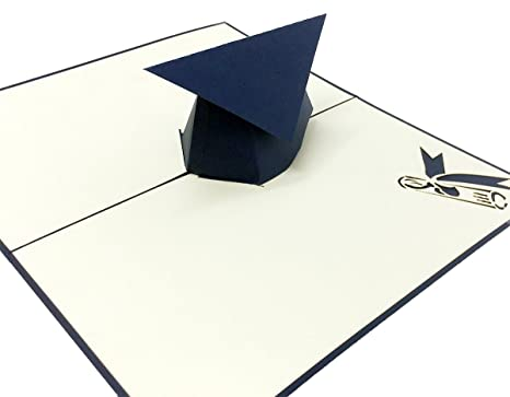 Amazon.com: Pop conejo Pop Up Tarjeta de graduación – 3d ...