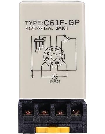c61//°F-gp A V CA 50/// 60/HZ Regulador de Nivel flotante Sin L/íquido con base