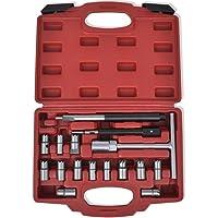 LARS360 17 piezas Inyector Fresa Diesel resistente al
