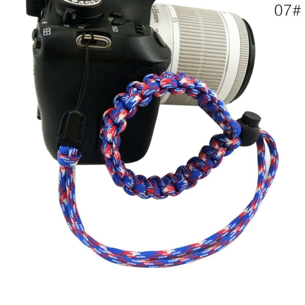 VIMOER 1 Pulsera de Cuerda de paracaídas para cámara, Correa de ...