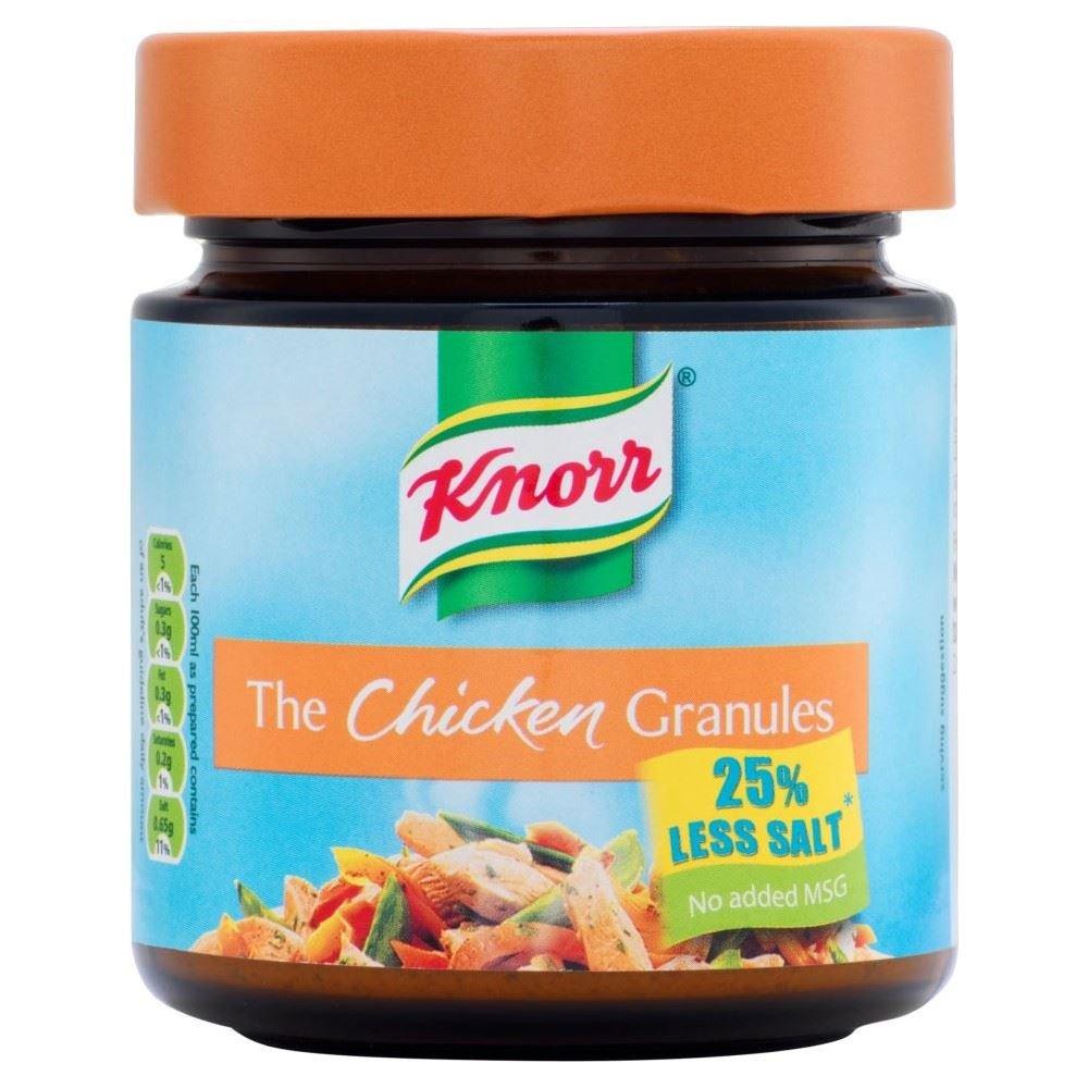 Knorr Chicken Granules Reduced Salt (120g) - Pack of 2