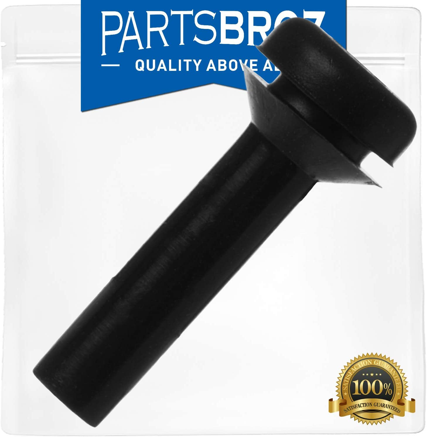 WB02X24790 Bumper by PartsBroz - Compatible with General Electric Ranges - Replaces AP5989801, PS11729077