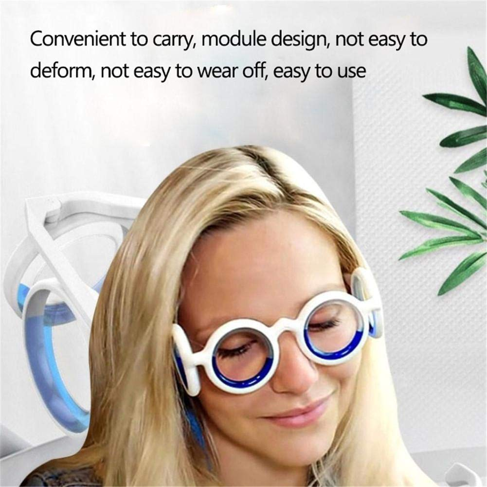 Foldable Smart Glasses Prom-note Anti-Motion Sickness Glasses Raised Airsick Sickness Seasickness Detachable For Travel Cruise Ship Accessories Anti-Nausea