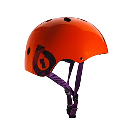 SixSixOne 2016 Dirt Lid Traditional Skate and Multi-Sport Helmet - 7123 (Orange) : Sports & Outdoors