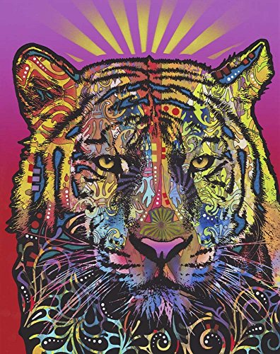 (Regal (Tiger) by Dean Russo Art Print, 12 x 15 inches)