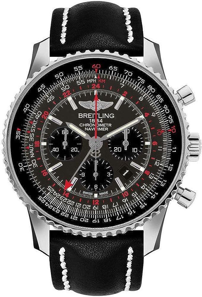 Breitling Navitimer GMT AB04413A/F573-442X - Reloj de Pulsera para Hombre