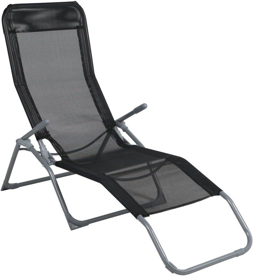 Kippliege Campingliege Sonnenliege Strandliege Gartenliege Sessel Liege Outdoor