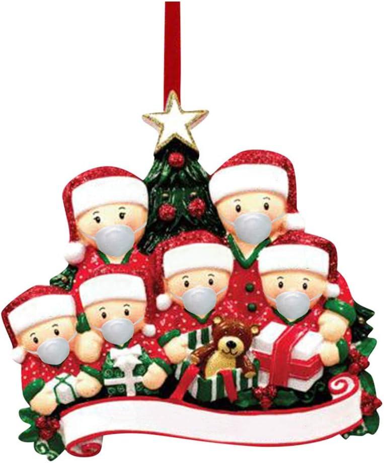2020 White Swan Handmade Father Christmas Amazon.com: Whear Christmas Ornaments Quarantine Christmas Party