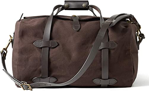 Filson Small Rugged Twill Duffle Bag Color Brown