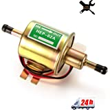 Universal 12V 2.5-4 p.s.i Heavy Duty Electric Fuel Pump Metal Solid Petrol 12 Volts