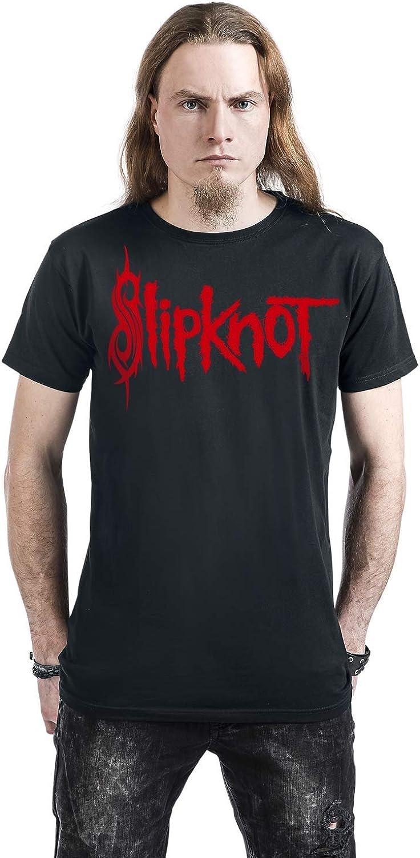 Slipknot WANYK Logo Hombre Camiseta Negro XXL, 100% algodón ...