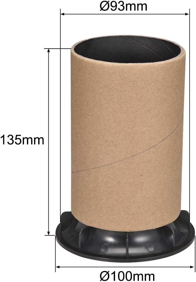 uxcell 93mm x 135mm Speaker Port Tube Subwoofer Bass Reflex Tube Bass Woofer Box 2pcs
