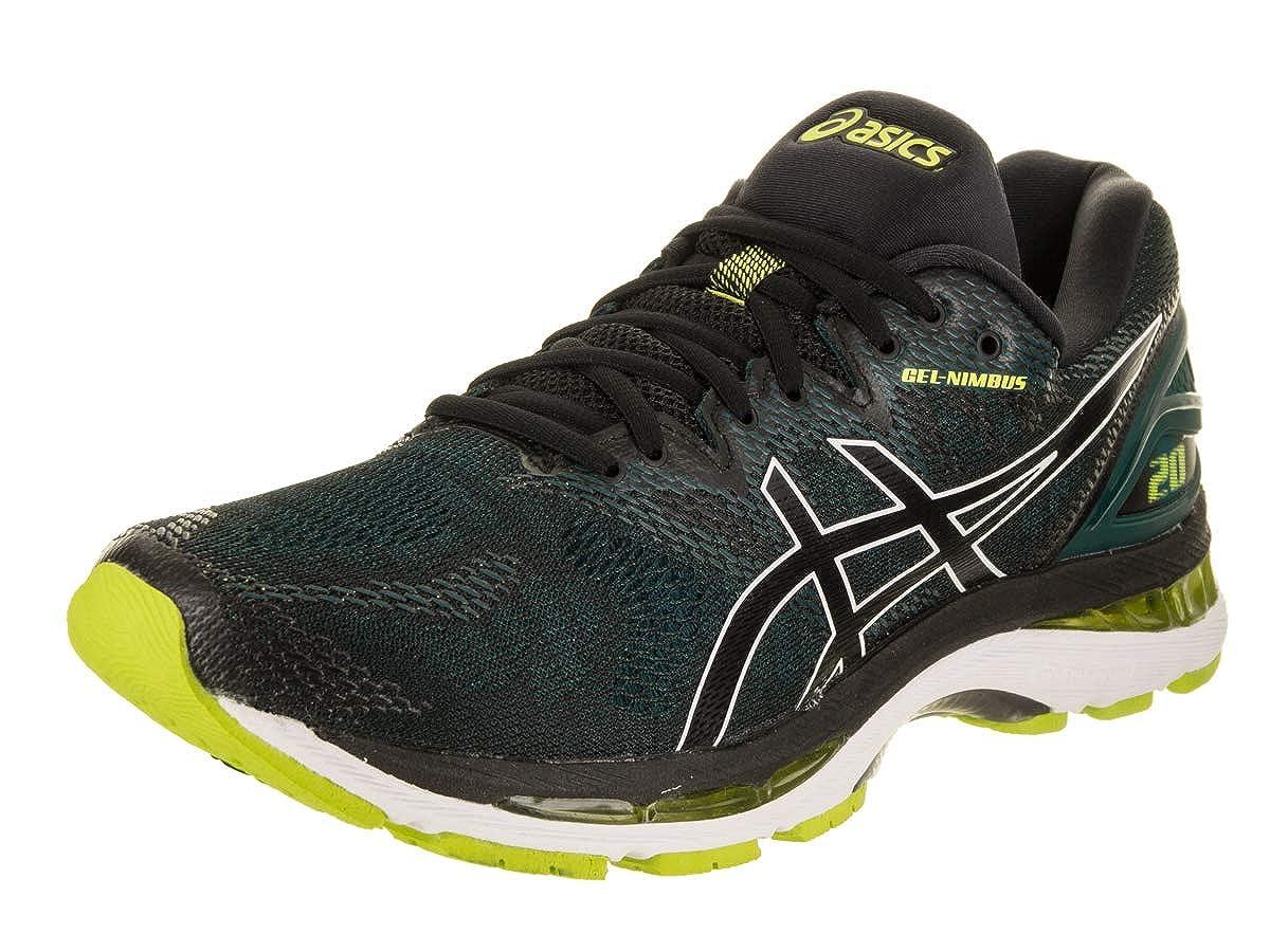 noir Neon Lime 7.5-D US unisex-adult ASICS Gel-Nimbus 20, Chaussures de FonctionneHommest Homme