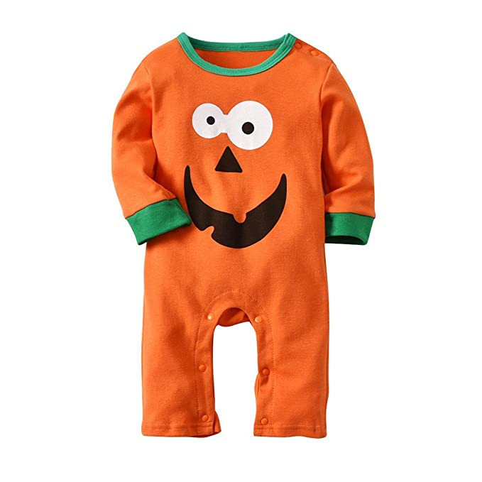 f78f6079b LQQSTORE Baby Romper Suits Baby Boys Girls Jumpsuit Christmas ...