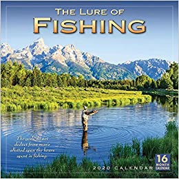 Um Calendar 2020 The Lure of Fishing 2020 Calendar: Sellers Publishing Inc