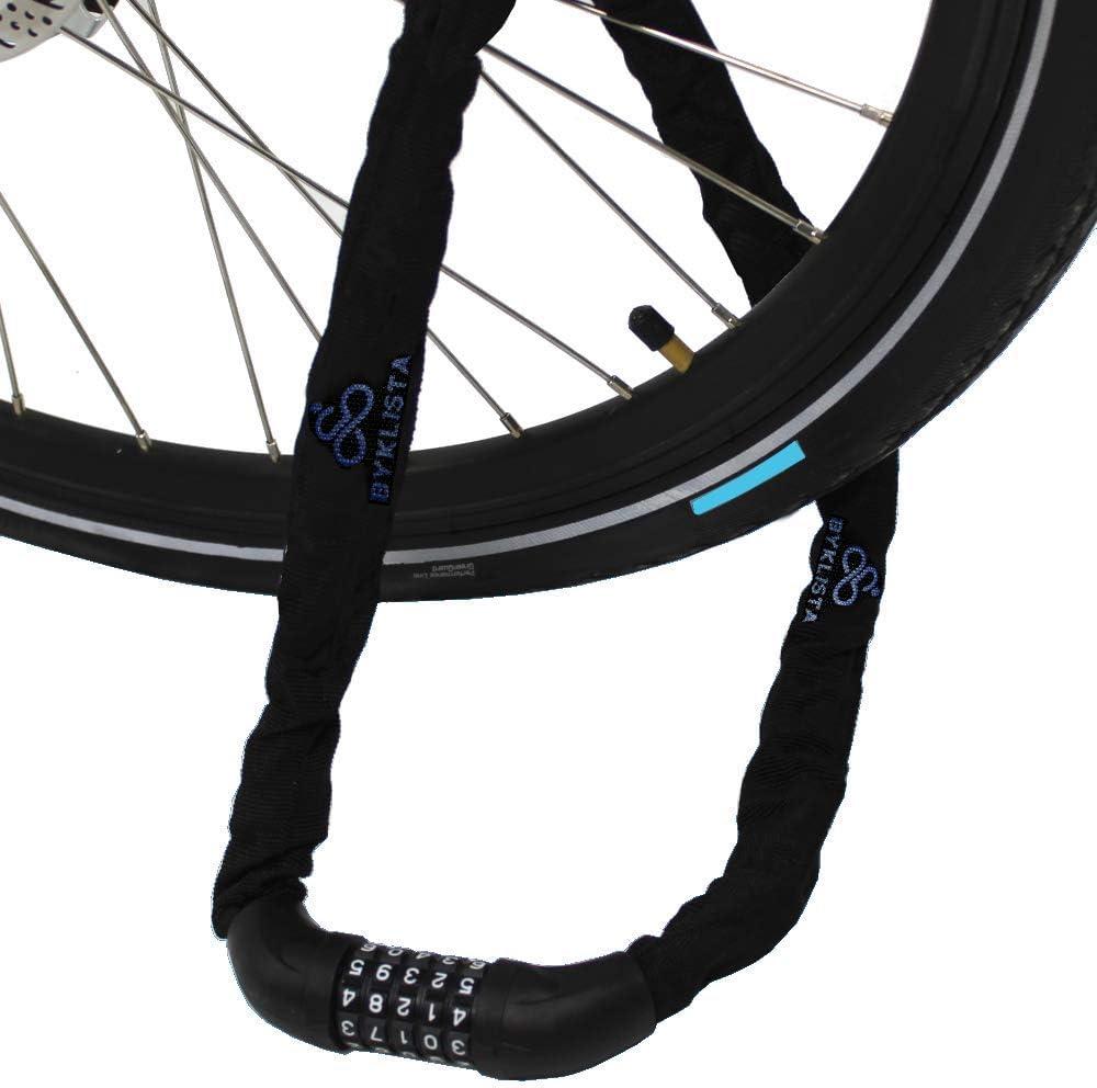 BYKLISTA Candado de Bicicleta Profesional - candado antirrobo con ...
