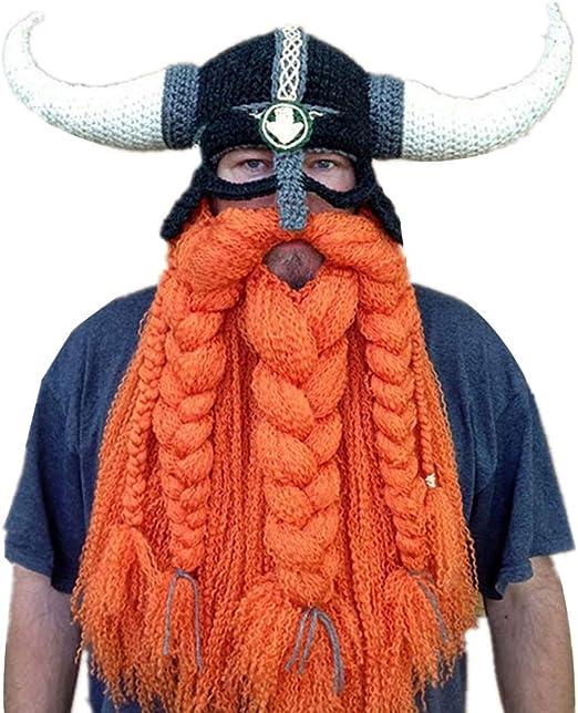 YBBDHD Hombres Sombreros De Barba Plegables Originales Tejidos A ...