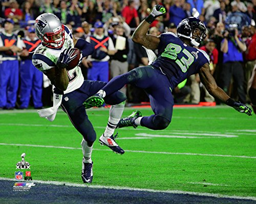 Malcolm Butler of The New England Patriots, Interception In the 4th Quarter Of Super Bowl XLIX 49.8x10 Photo Picture.