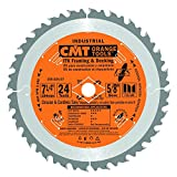 CMT 250.024.07-X10 ITK Industrial Framing/Decking Saw Blade Masterpack, 7-1/4-Inch x 24 Teeth 1FTG+2ATB Grind with 5/8-Inch Bore - 10-Pack