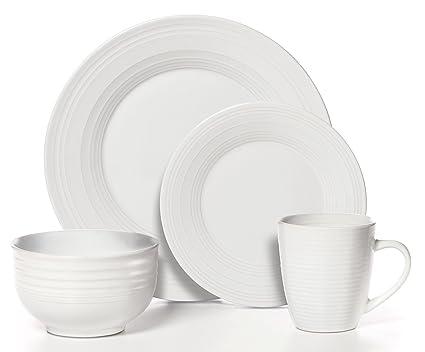 Sierra White Dinnerware Set  sc 1 st  Amazon.com & Amazon.com | Pfaltzgraff 16-pc. Sierra White Dinnerware Set ...