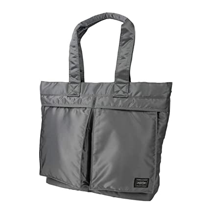 Amazon.com  Yoshida Bag Porter Tanker Tote Bag Size L 622-06994 Silver Gray  from Japan  Office Products 35de5504b0524