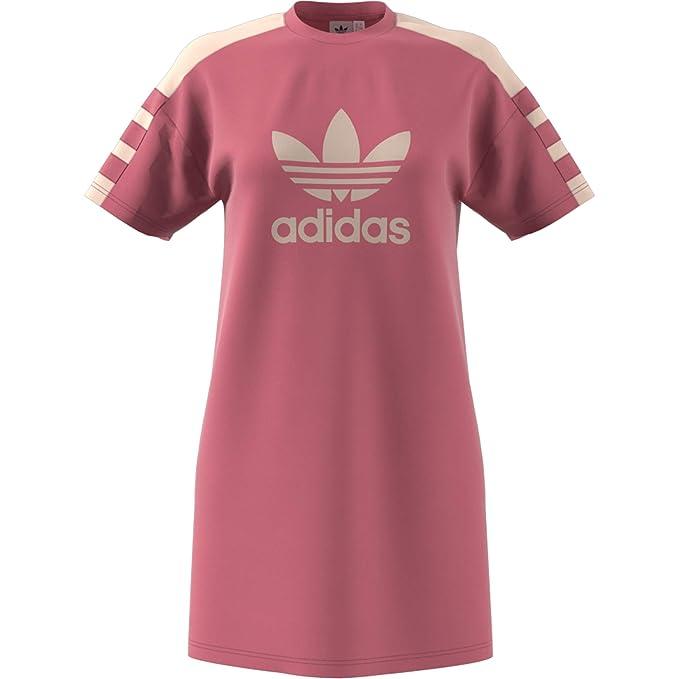 0579dc4a1a44 adidas Tee Vestito Donna Rosa DH4181 38  Amazon.it  Abbigliamento