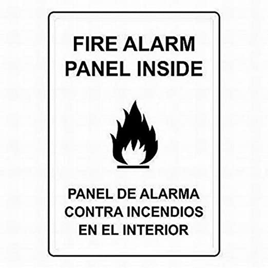 ABLERTRADE Tablradeg Panel de Alarma de Incendio con señal ...