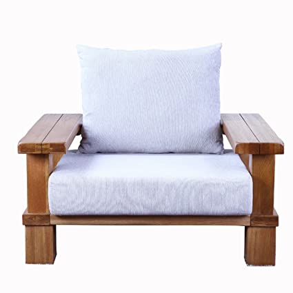 HUAYI sofá Sofa (madera maciza silla sofá en roble ...