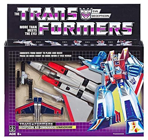 Transformers New 2018 Vintage G1 Exclusive Starscream - Starscream Reissue