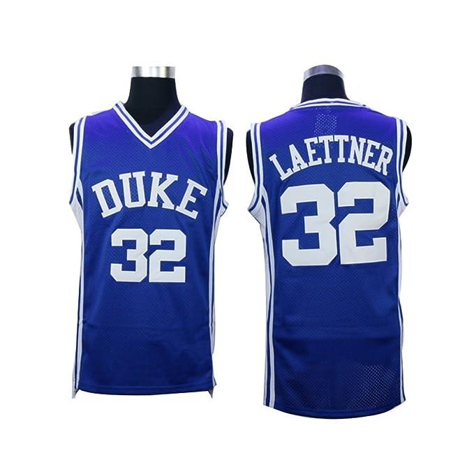 size 40 48431 04cf4 Christian Laettner #32 Duke Blue Devils College Throwback ...