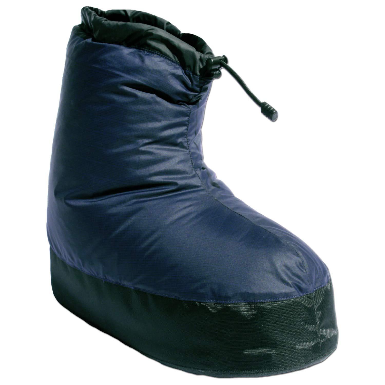 Western Mountaineering Standard Down Bootie - Men's Navy Blue, S by Western Mountaineering