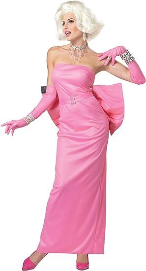 Ladies Marilyn Monroe UK 6-8 Fancy Dress Costume Diamonds ...