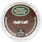 Green Mountain Coffee Half-Caff, Regular/Med Roast K-Cup Portion Pack for Keurig K-Cup Brewers, 72-Count