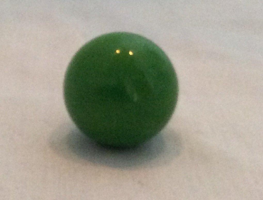 Mega Marbles 10パック不透明グリーン22 mmまたは7 /8ビー玉 B07CZPP4SZ