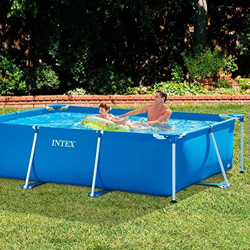 intex family schwimmbecken blau 300 x 200 x 75 cm ebay. Black Bedroom Furniture Sets. Home Design Ideas