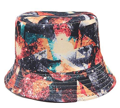 Century Star Women's Maximum Sun Protection Fashion Summer Fishing Bucket Hat Style6