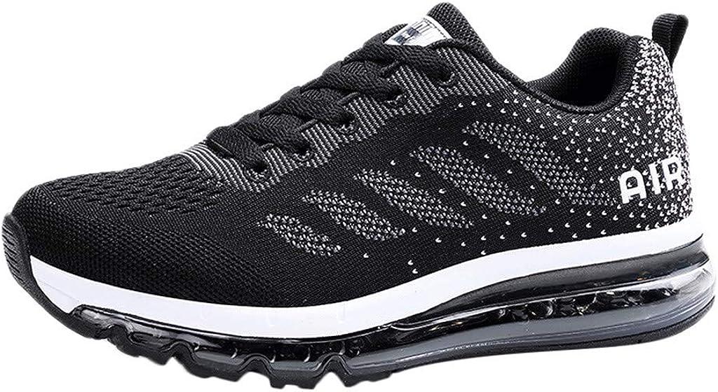 beautyjourney Zapatos de Running para Mujer Zapatos Casuales Zapatillas Air Cushion Zapatillas Deportivas para Correr Zapatillas Ligeras Transpirables Zapatos de la Aptitud: Amazon.es: Ropa y accesorios