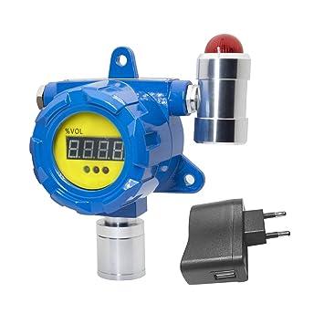 BH-60 Detector de gas fijo Detector de fosfuro de hidrógeno Alta sensibilidad Larga vida Pantalla LED Compensación de temperatura: Amazon.es: Bricolaje y ...