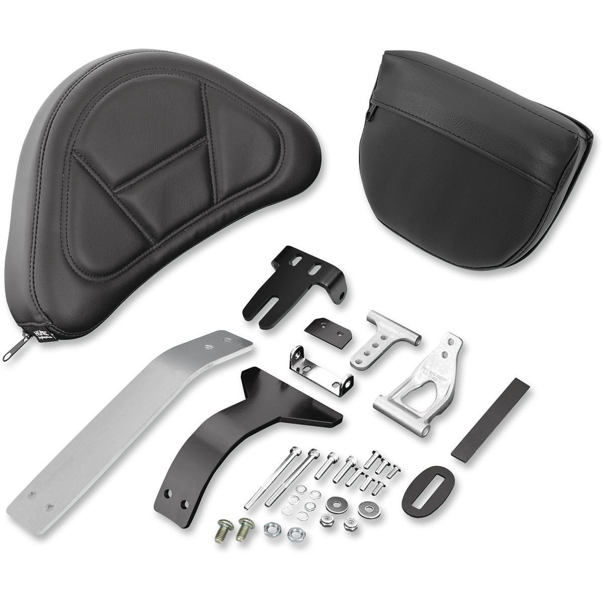 Show Chrome Accessories 52-797A Smart Mount Removable Backrest (Gl1800)