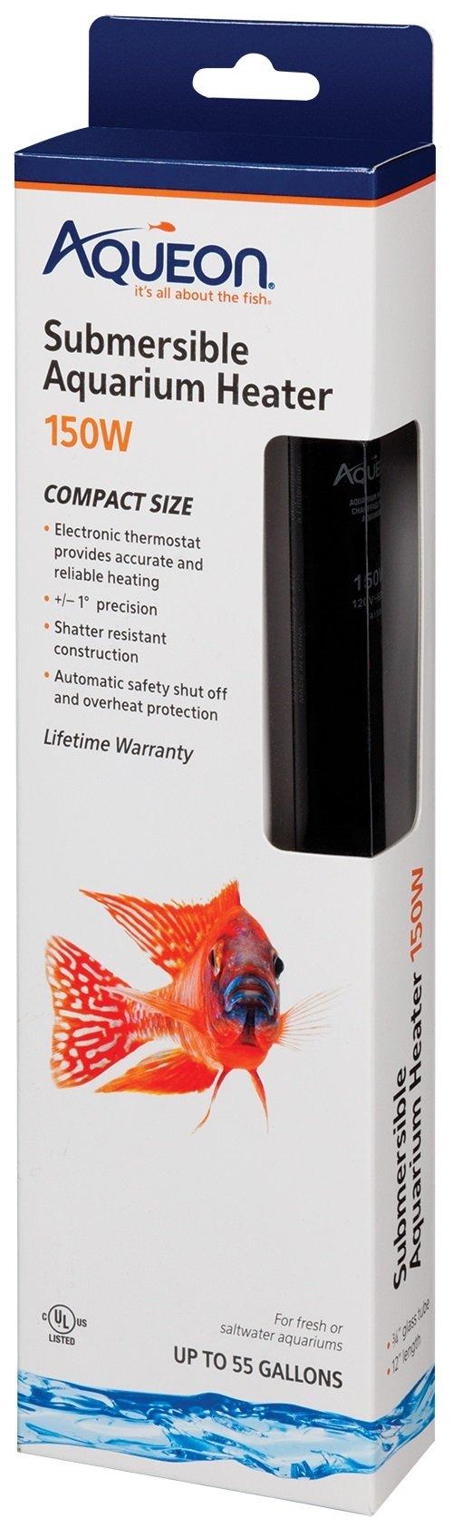 Aqueon Submersible Aquarium Heater 150 Watt
