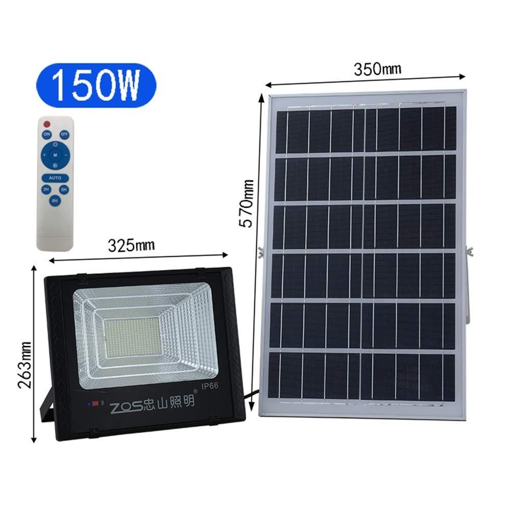 Foco Led Solar Exterior, luz de jardín impermeable al aire libre ...
