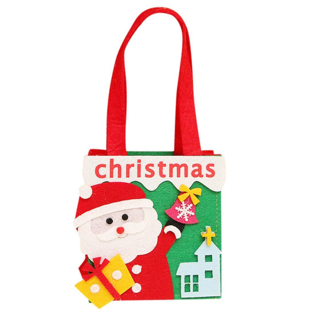 TianranRT Neuheit Weihnachten Süßigkeiten Tasche Vlies Geschenke ...